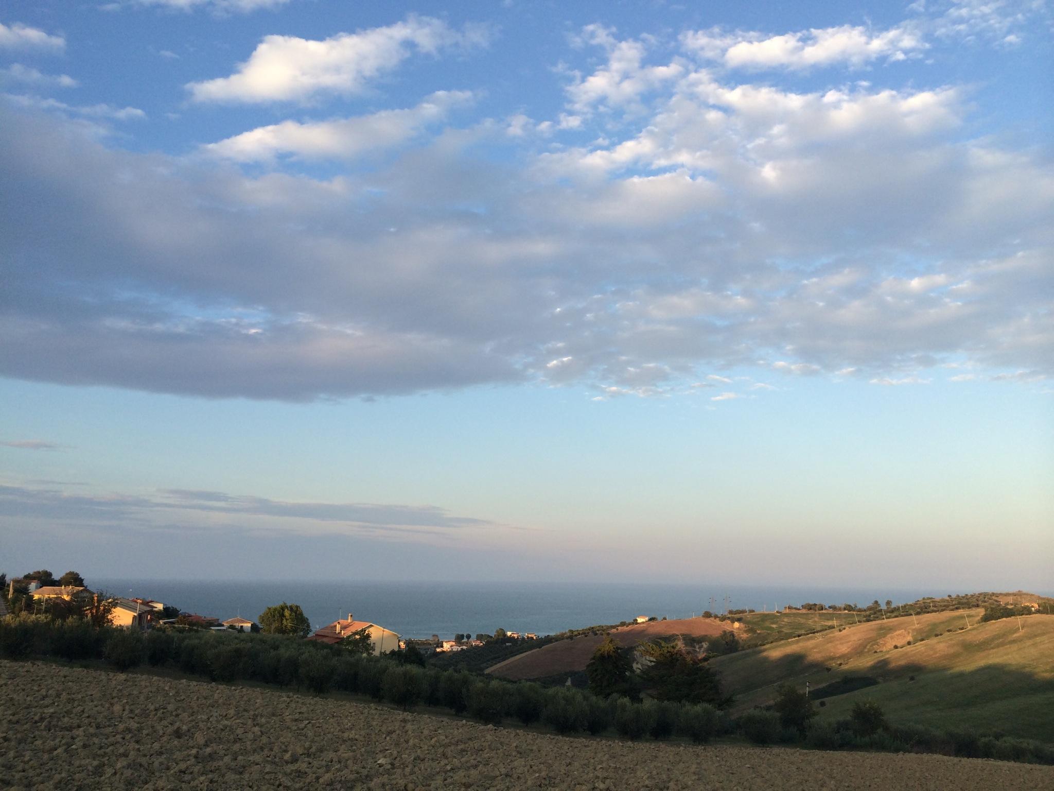 Tramonto in Abruzzo