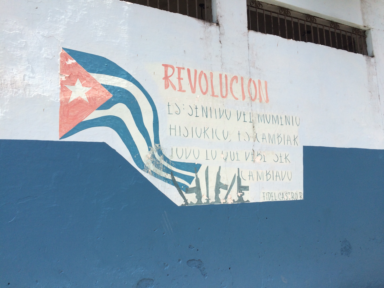 Murales rivoluzionario a L'Avana, Cuba