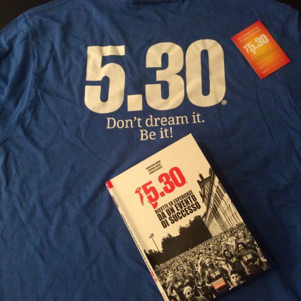 5.30 Run maglietta e libro