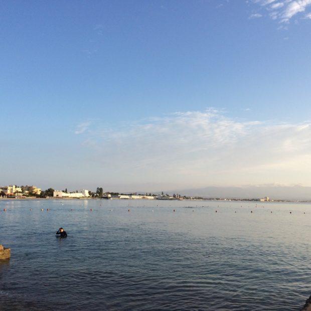 Il Poetto di Cagliari visto da Marina Piccola