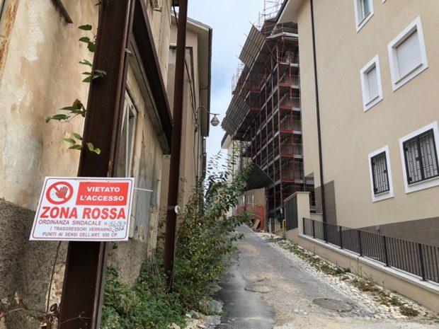 L'Aquila Zona Rossa