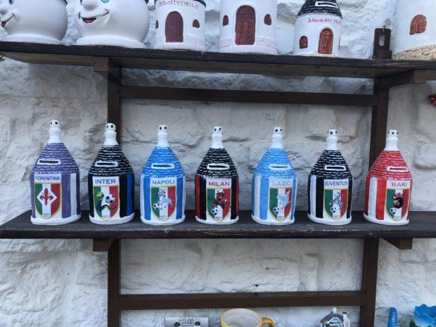 Alberobello, trulli per Bari e altre squadre